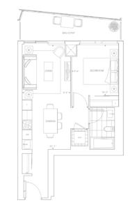 the well condos classic series II floor plan