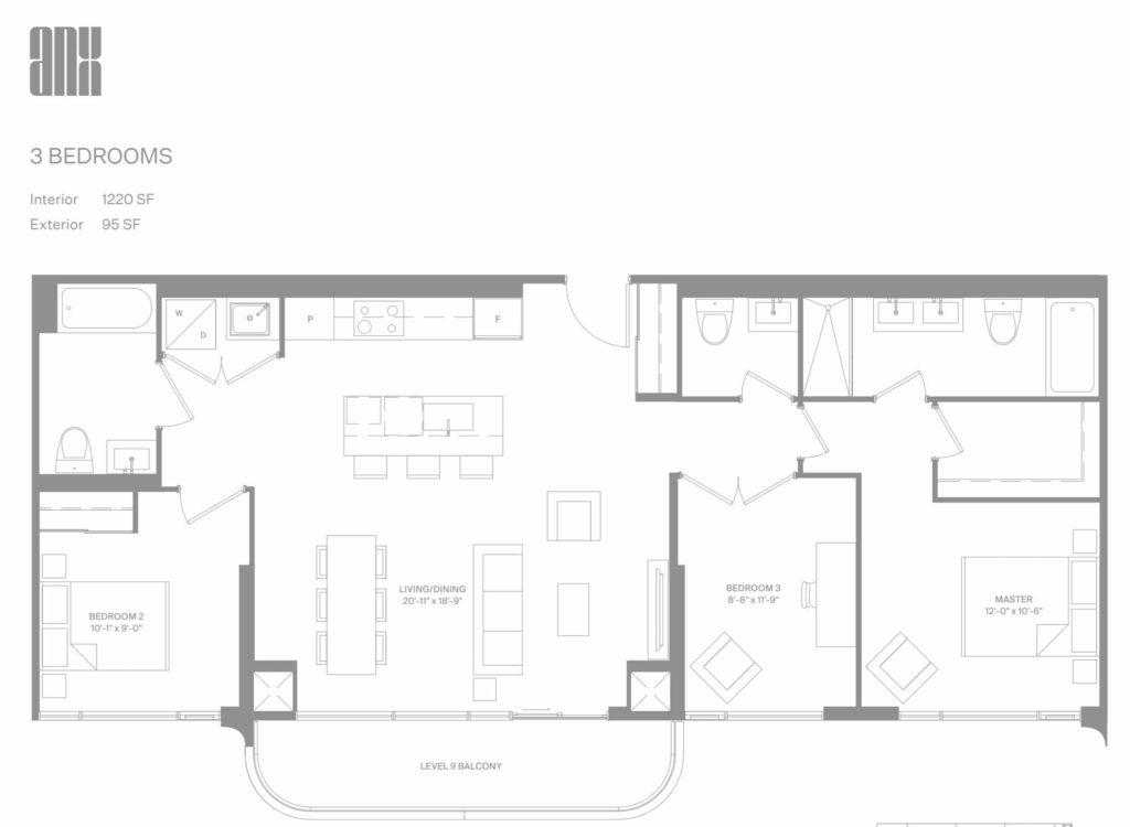 anx condos floor plans