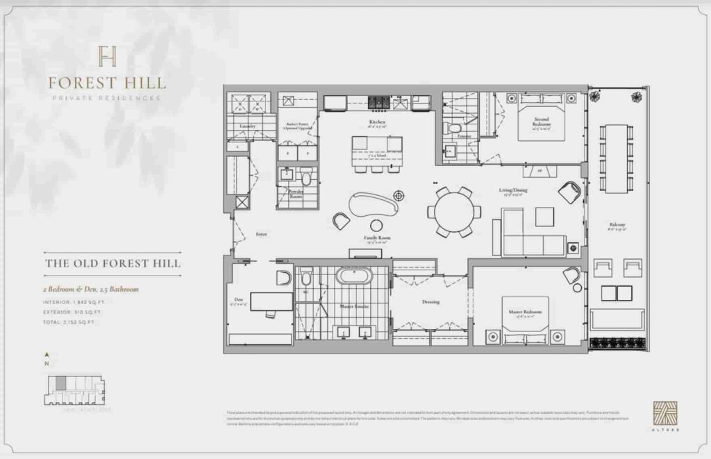 Forest Hill Private Residences Floor Plan