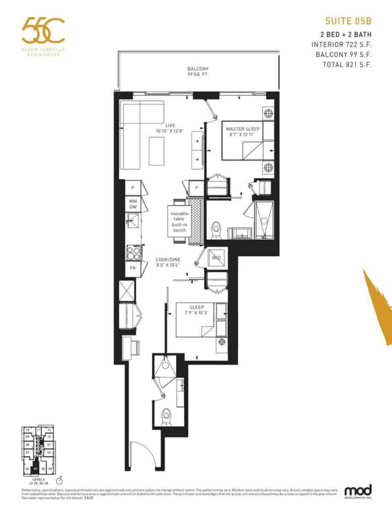 55C Condos Bloor Yorkville Residences 05b