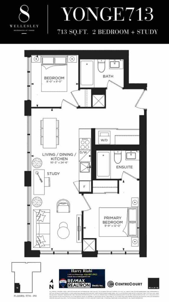 8 Wellesley Floor Plans