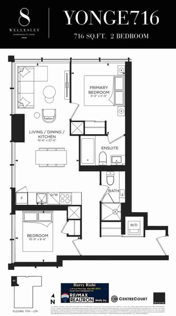 8 Wellesley Floor Plan