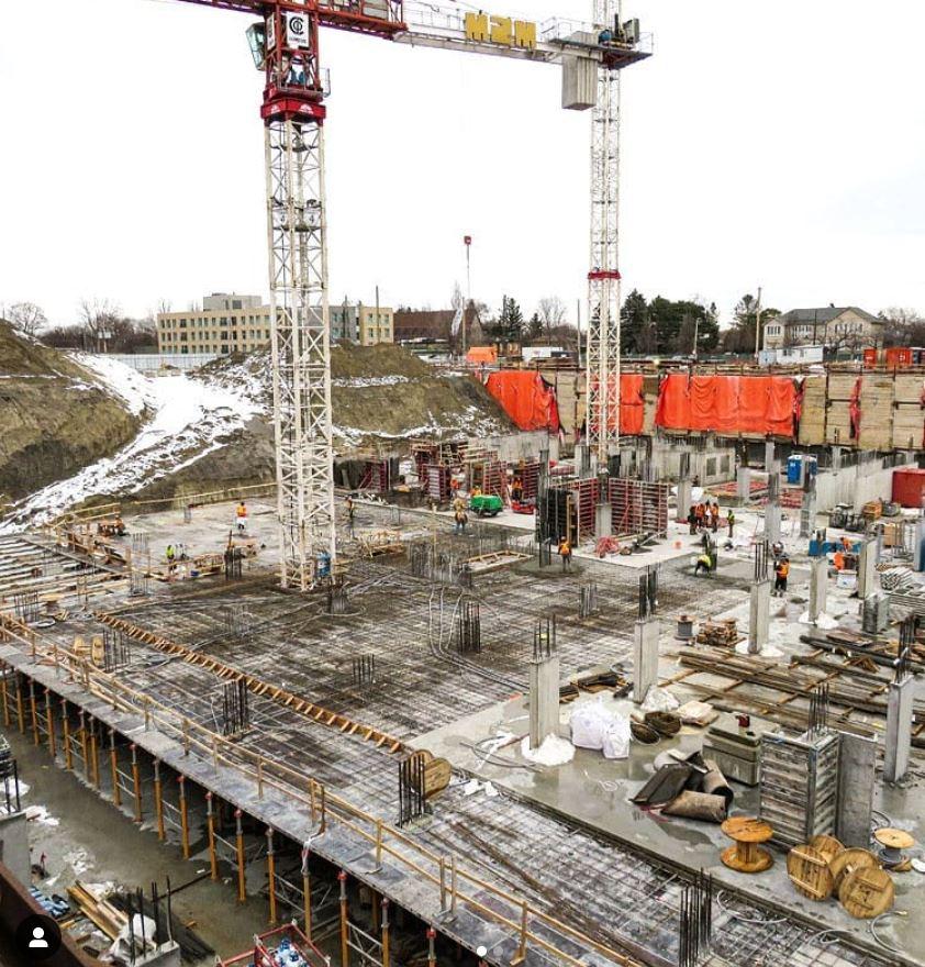 m2m condos phase1 construction process