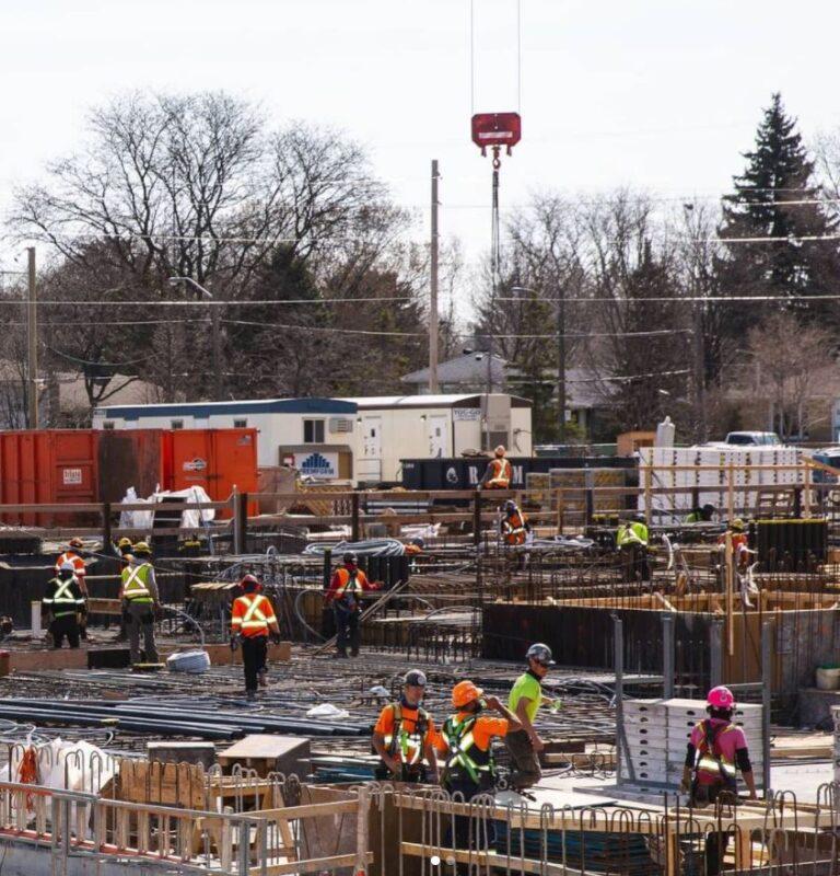 m2m condos phase 1 construction site