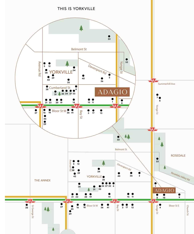adagio condos address