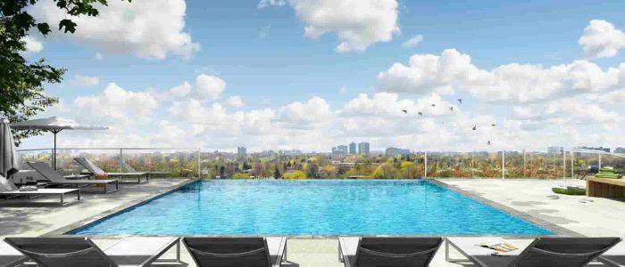 M2M squared condos outdoor pool